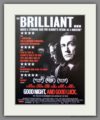 Goodnight And Good Luck. 2006 Original Advert (ref AD54906)