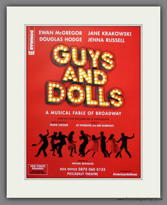 Guys And Dolls. 2005 Original Advert (ref AD54907)