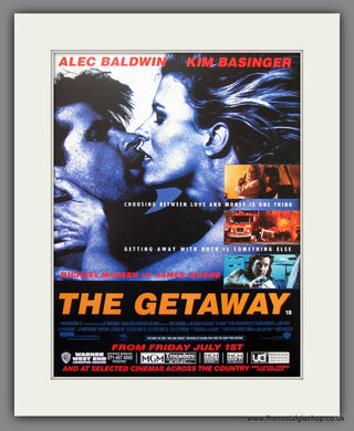 The Getaway. 1994 Original Advert (ref AD54908)