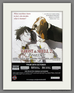 Ghost In The Shell 2. 2006 Original Advert (ref AD54912)