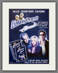 Galaxy Quest. 2001 Original Advert (ref AD54913)