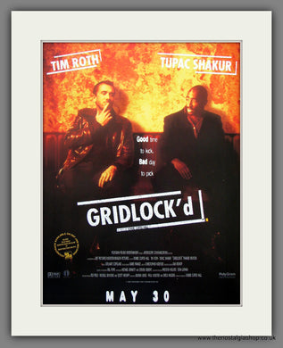 Gridlock'd.  1997 Original Advert (ref AD54916)