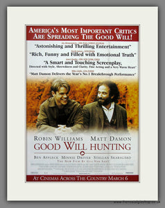 Good Will Hunting 1998 Original Advert (ref AD54924)