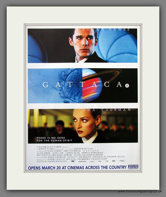 Gattaca. 1998 Original Advert (ref AD54925)