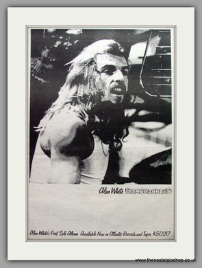 Alan White. Ramshackled. Vintage Advert 1976 (ref AD9639)