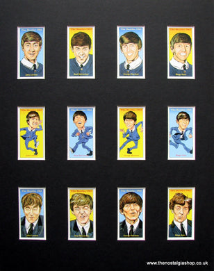 Beatles (The). Mounted Card Set