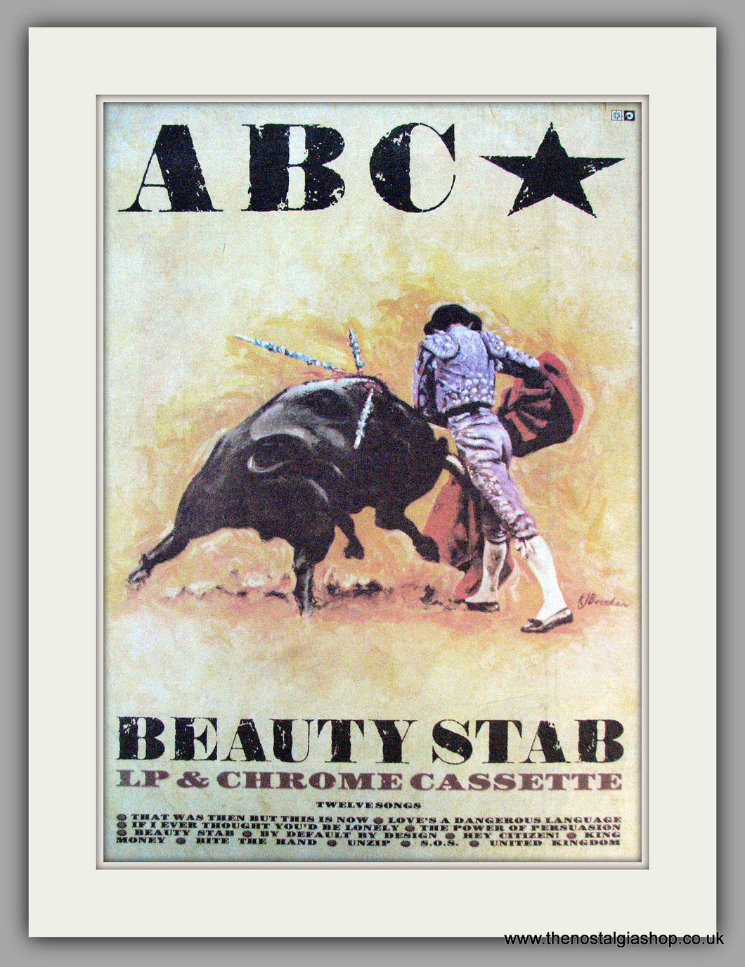 ABC. Beauty Stab. Vintage Advert 1983 (ref AD9910)