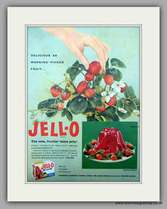 Jell-o Table Jelly. Original Advert 1955 (ref AD9991)