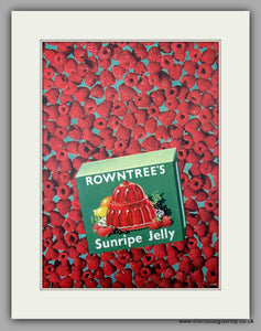 Rowntree's Sunripe Jelly. Original Advert 1952 (ref AD9992)