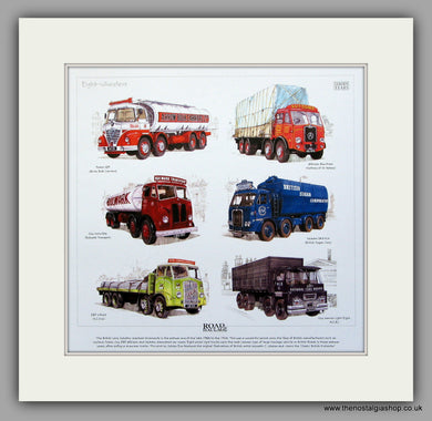 Road Haulage.  Mounted print
