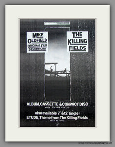Mike Oldfield-The Killing Fields.  Original Vintage Advert 1984 (ref AD10509)