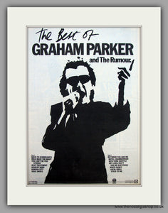 Graham Parker And The Rumour.  Original Vintage Advert 1980 (ref AD10513)