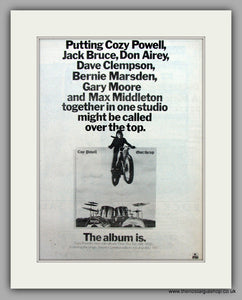 Cozy Powell-Over The Top.  Original Vintage Advert 1979 (ref AD10525)