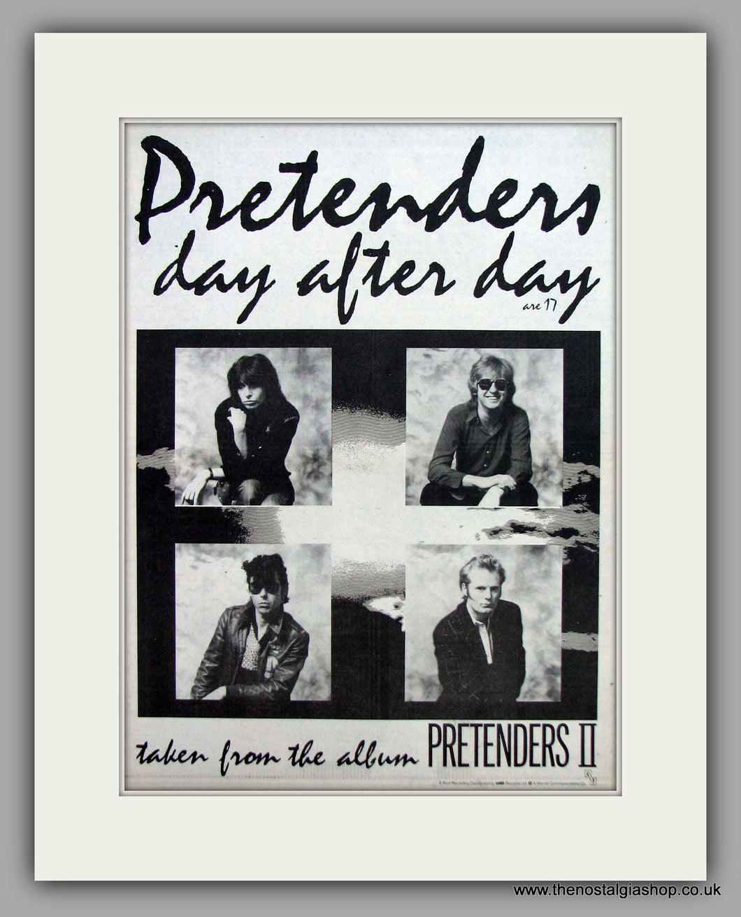 Pretenders(The) - Day after Day.  Original Vintage Advert 1981 (ref AD10528)