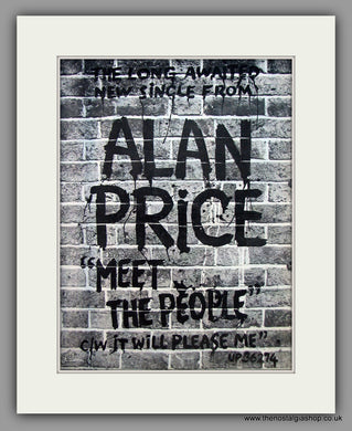 Alan Price - Meet The People.  Original Vintage Advert 1977 (ref AD10529)