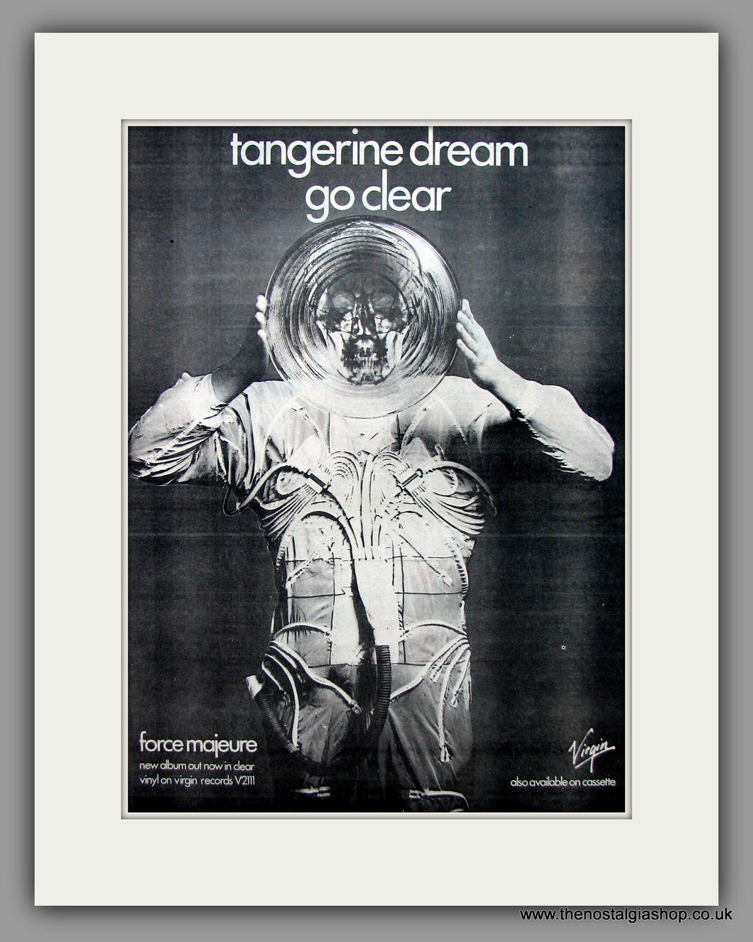 Tangerine Dream-Go Clear.  Original Vintage Advert 1979 (ref AD10552)
