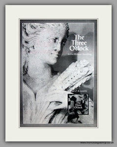 The Three O'Clock-Arrive Without Travelling.  Original Vintage Advert 1989 (ref AD10558)