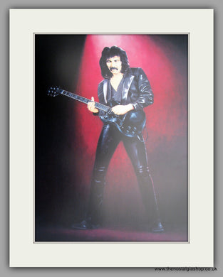 Tony Iommi (Black Babbath) Large Mounted Art print (ref N113)