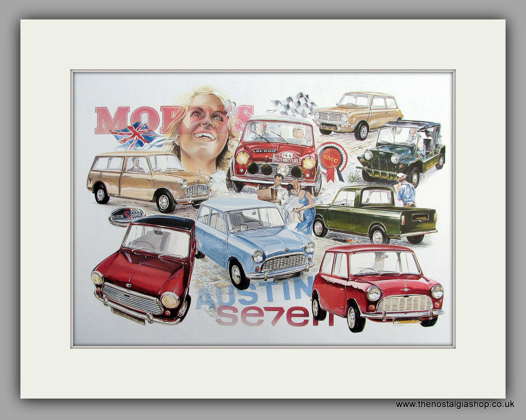 Mini - The Magnificent Mini, Mounted Large print