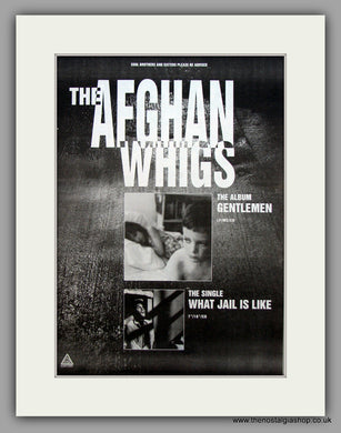 Afghan Whigs (The) - Gentlemen.  Original Vintage Advert 1994 (ref AD10589)