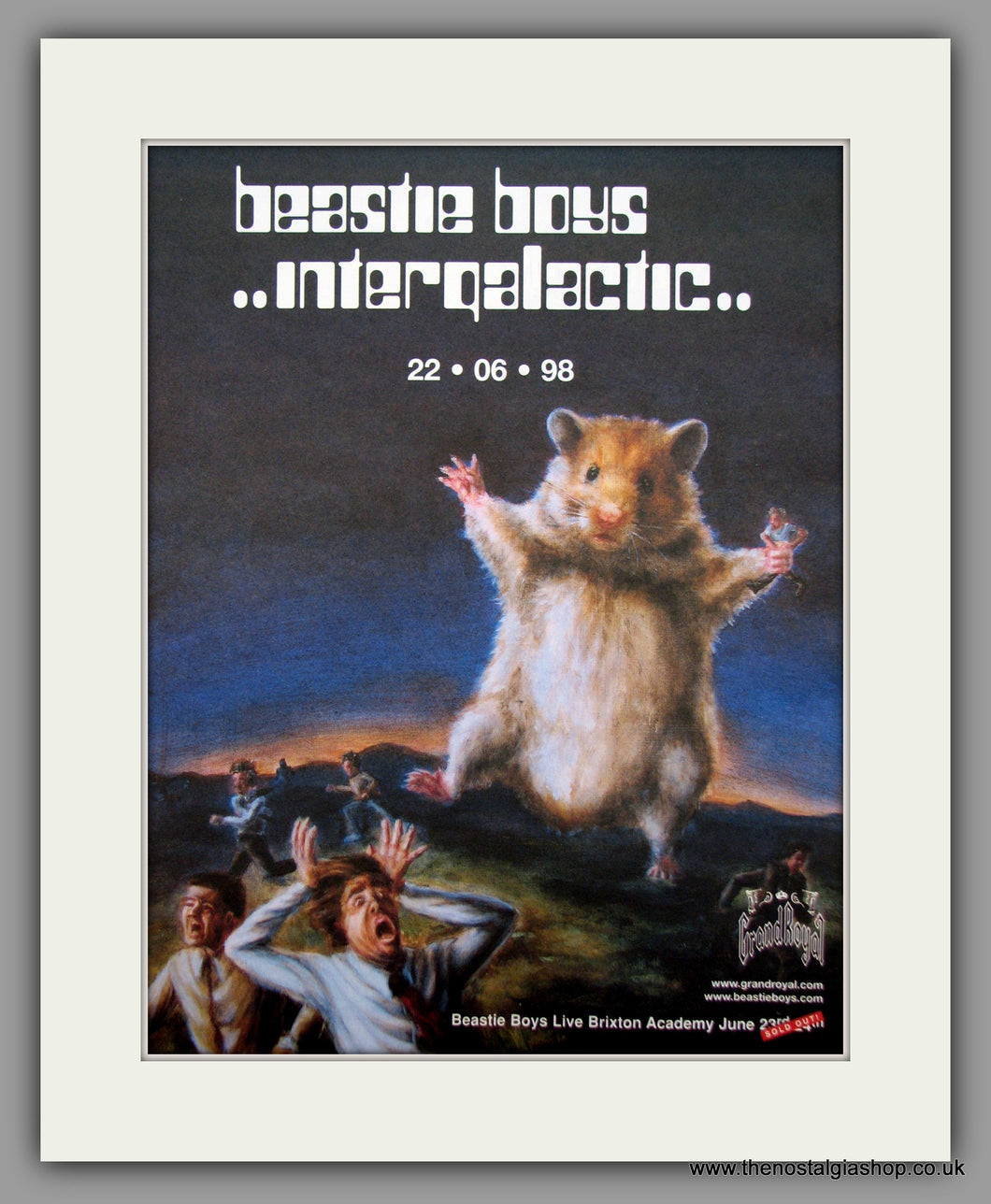 Beastie Boys-Intergalactic.  Original Vintage Advert 1998 (ref AD10601))