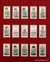 Load image into Gallery viewer, Manchester United 1968, European Cup Winners. Football Card Set