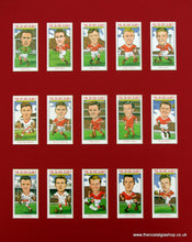 Load image into Gallery viewer, Manchester United. Busby Babes 50th Anniversary Football card set
