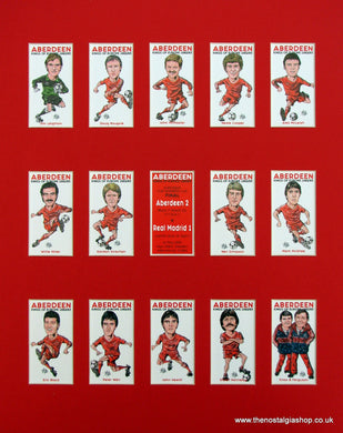 Aberdeen. Kings of Europe 1982/3. Football Card Set