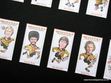 Load image into Gallery viewer, Wolves Heroes & Legends. Mounted Football Card Set