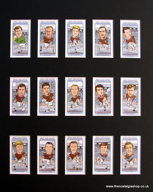 West Ham United Cup Winners 1964 - 65 Football Card Set