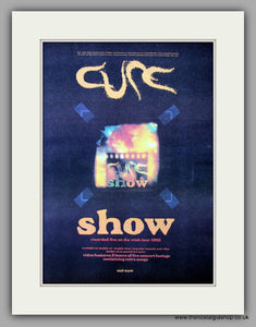 Cure (The) - Show.  Original Vintage Advert 1993 (ref AD10660)