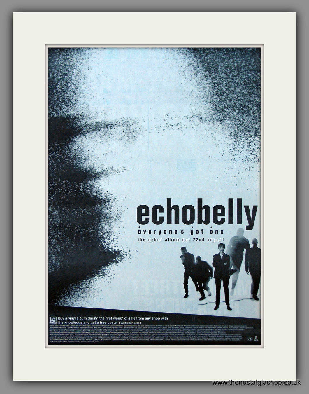 Echobelly - Everyone's Got One.  Original Vintage Advert 1994 (ref AD10744)