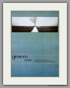 Geneva - Further. Original Vintage Advert 1997 (ref AD10802)
