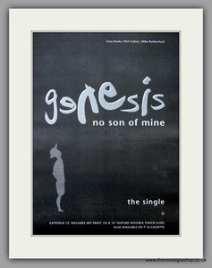 Genesis - No Son Of Mine. Original Vintage Advert 1991 (ref AD10807)