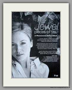 Jewel - Pieces Of You.  Original Vintage Advert 1997 (ref AD10821)