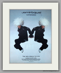 Jamiroquai - Supersonic. Original Vintage Advert 1999 (ref AD10827)