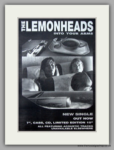 Lemonheads (The) - Into Your Arms. Original Vintage Advert 1993 (ref AD10871)