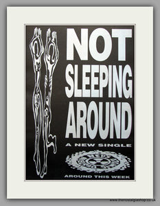 Ned's Atomic Dustbin - Not Sleeping Around. Original Vintage Advert 1992 (ref AD10929)