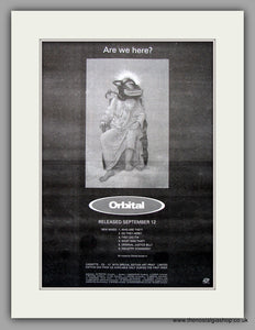 Orbital -  Are We Here?. Original Vintage Advert 1994 (ref AD10946)