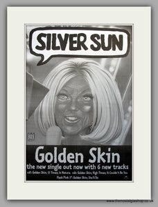 Silver Sun. Golden Skin. Original Vintage Advert 1997 (ref AD11051)