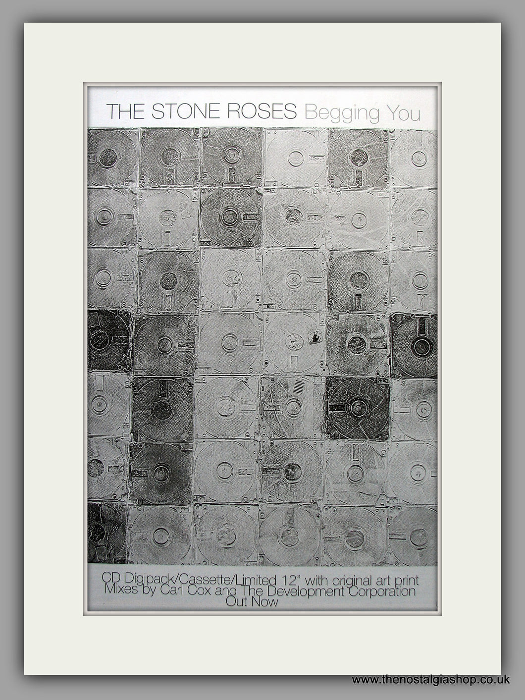 Stone Roses (The) - Begging You. Original Vintage Advert 1997 (ref AD11079)