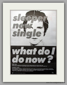 Sleeper - What Do I Do Now. Original Vintage Advert 1995 (ref AD11082)