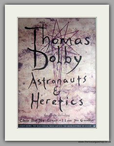 Thomas Dolby - Astronauts & Heretics. Original Vintage Advert 1992  (ref AD11156)