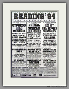 Reading Festival 1994. Original Advert (ref AD7960)