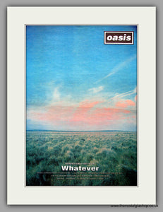Oasis. Whatever. Original Vintage Advert 1994 (ref AD11144)
