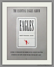 Load image into Gallery viewer, Eagles (The) Hell Freezes Over. Set of 2 Original Adverts 1995 (ref AD50234)
