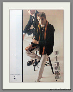 Style Council (The) Home and Abroad. Original advert 1986 (ref AD50514)