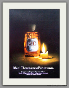 Pub After Shave by Faberge. 1969 Original Advert (ref AD51148)