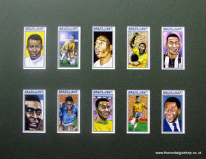 Brazilliant. The Legend Pele.. Football Card Set