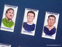 Load image into Gallery viewer, Everton Legends. Football Card Set